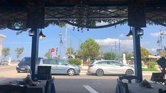 Lunch Break in Kyllini (RobW_) Tags: lunch break sea garden taverna kyllini port ileia peloponnese greece monday 23sep2019 september 2019