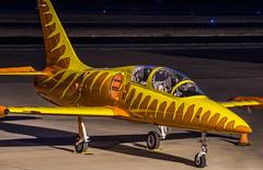 aerovodochody l-39c firecat (pbo31) Tags: eastbay alamedacounty evening dark nikon d810 color october boury pbo31 municipal airport lvk livermore aviation over plane sunset local yellow orange stunt