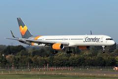 Condor  Boeing 757-330 D-ABOC (widebodies) Tags: düsseldorf dus eddl widebody widebodies plane aircraft flughafen airport flugzeug flugzeugbilder condor boeing 757330 daboc