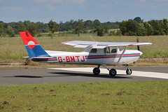 G-BMTJ (1) (ANDY'S UK TRANSPORT PAGE) Tags: planes turweston cessna152 c152 15285010