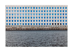 Blue Eyes (Thomas Listl) Tags: thomaslistl color copenhagen denmark cph facade windows architecture building frontal lines geometry graphical water waterscape