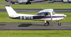 G-BTDW (PrestwickAirportPhotography) Tags: egpk prestwick airport cessena 152 gbtdw