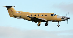 HB-FQL (PrestwickAirportPhotography) Tags: egpk prestwick airport pilatus pc12 hbfql
