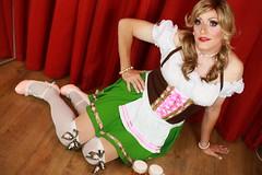 Happy Octoberfest everyone! (Paula Chester) Tags: tg tv ts tranniefun trannie tranny transvestite tgirl tgurl crossdressing crossdresser ladyboy cd octoberfest barmaid