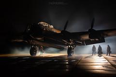 Royal Air Force NX611 5-10-2019 (Enda Burke) Tags: eastkirkby avgeek aviation airplane airport crew ww2 lancaster lancasterbombo avro avrolancaster war wartime worldwar2 canon canon7dmk2 night nightime lincolnshire nx611 bomber
