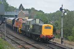 D8568 D9551 Highley 05/10/19 (yamdood91) Tags: 17 14 2019 9551 8568 d9551 d8568 class svr severn valley railway highley diesel gala
