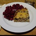 Blumenkohltarte mit Rote Bete Salat (meine 1. Portion)