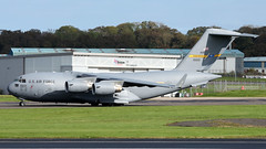10-0221 (PrestwickAirportPhotography) Tags: egpk prestwick airport usaf united states air force boeing c17a globemaster 100221 charleston mobility command