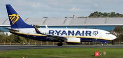 EI-SEV (PrestwickAirportPhotography) Tags: egpk prestwick airport ryanair boeing 737 b737 eisev
