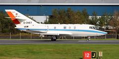 D-CMET (PrestwickAirportPhotography) Tags: egpk prestwick airport dassault falcon 20 dcmet