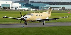 HB-FQE (PrestwickAirportPhotography) Tags: egpk prestwick airport pilatus pc12 hbfqe