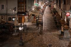 Dresden - Münzgasse (Rafael Zenon Wagner) Tags: nacht night gasse alley kopfsteinpflaster cobblestonesalley germany deutschland dresden 40mm nikon d810