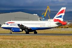 G-EUPU_07 (GH@BHD) Tags: geupu airbus a319 a319100 a319131 ba baw britishairways speedbird shuttle unionflag bhd egac belfastcityairport aircraft aviation airliner