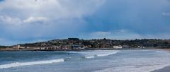 Gijón (_diegoalo) Tags: nature naturaleza sea mar green blue sky dark rain beginnings gijon españa spain nikon d5300 35mm