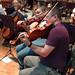 DSC00846c Ealing Symphony Orchestra rehearsal. 5th October 2019. Leader Peter Nall, conductor John Gibbons (Photo Anna Bucknall)