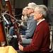 DSC00842c Ealing Symphony Orchestra rehearsal. 5th October 2019. Leader Peter Nall, conductor John Gibbons (Photo Anna Bucknall)