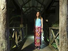 Dressed for dinner at Sukau Rainforest Lodge (Bex.Walton) Tags: malaysia asia travel borneo sabah borneoecotours wildlife sukau kinabatangan kinabatanganriver rainforest lodge sukaurainforestlodge