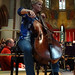 DSC00827c Rachael Bucknall rehearses Adagio con variazioni, Respighi. 5th October 2019 (Photo Anna Bucknall)