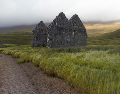 all that remains (johnny_9956) Tags: house building history historic ruin derelict scotland canon track grass old highlands ancient