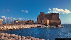 Napoli Castel dell' Ovo (Venom Marco) Tags: italia italy castello castel sea mare sky blue travel napoli naples fun holiday