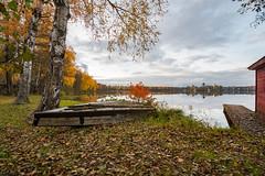 Old Boat (gubanov77) Tags: leaffall boat autumn october nature lake vvedenskoelake vvedensky russia vladimiroblast landscape