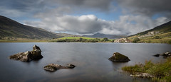 Llyn mymbyr (paullangton) Tags: llyn mymbyr wales sky clouds snowdonia water long exposure landscape lake mountains