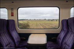 Through the train window (Mike McNiven) Tags: arriva railnorth northern sprinter expresssprinter york leeds yorkshire northyorkshire countryside