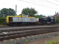 Old And New Diesel Locomotives at Blerick,the Netherlands , July 28,2019 (Treinemanke) Tags: old and new diesel locomotives shunter rtbcargo