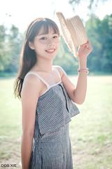XT30-DSCF7751-p-s (DDG XIE) Tags: 人像 portrait 芊聿 小清新 甜美 sweet pretty cute girl lady beauty light 草地