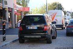 Mercedes-Benz ML-Klasse - Albania (Helvetics_VS) Tags: licenseplate albania