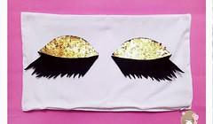 طريقة عمل مخدات الرموش او العيون الناعسة (ezo-handmade) Tags: اشغال يدوية افكار الطرز و الخياطة خياطة وسائد sewing