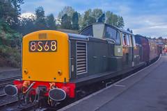 D8568 Bridgnorth 04/10/19 (yamdood91) Tags: 17 2019 8568 d8568 class svr severn valley railway bridgnorth diesel gala