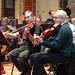 DSC00857c Ealing Symphony Orchestra rehearsal. 5th October 2019. Leader Peter Nall, conductor John Gibbons (Photo Anna Bucknall)