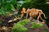 Mammoth skeleton (bodorigami) Tags: mammoth origami bodorigami complex 48 grid unryu brown mammuth tier animal skeleton skelett