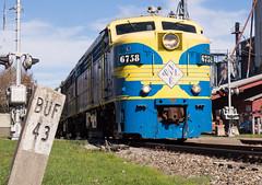 43 Miles To Buffalo (Joseph Bishop) Tags: nyle newyorklakeerie mlw alco fpa4 trains train track tracks railfan railroad railway rail rails southdayton