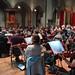 DSC00838c Ealing Symphony Orchestra rehearsal. 5th October 2019. Leader Peter Nall, conductor John Gibbons (Photo Anna Bucknall)