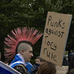 Punks against Tory rule