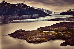 Colony Glacier (Never Exceed Speed) Tags: chugachmountains landscape innerlakegeorge scenery glaciallake lake mountain ice colonyglacier alaska