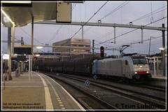 LNS 186 508, Arnhem Centraal (Teun Lukassen) Tags: railpool lineas lns br186 volvotrein 46257 arnhem centraal trains züge treinen