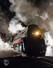Let Off Some Steam Bennett! (Night Stalker Photo Works, LLC.) Tags: 611 norfolkwestern flyingj steam vent strasburg nighttime inexplore pennsylvania lerroproductions continuouslighting session