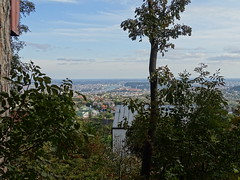 Lookout tower-mania 2. (zbenjamin2) Tags: lookout tower mania budapest hungary autumn zoom forest hill buda