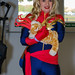 Captain Marvel & Goose the Cat