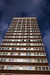 Mile End (I M Roberts) Tags: mileend towerblock towerhamlets eastlondon fujix100s