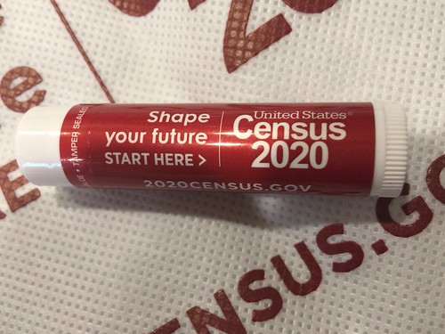 Census 2020 logo lip balm by denise-marie1, on Flickr