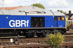 GBRf 60026 at Eastleigh East Yard 6/10/19 (Ewan's rail pics) Tags: gbrf beaconrail liveried class60 60026 helvellyn tug loco locomotive eastleigheastyard eastleigh