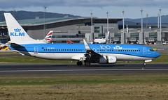 KLM PH-BGC, OSL ENGM Gardermoen (Inger Bjørndal Foss) Tags: phbgc klm boeing 737 osl engm gardermoen