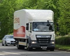 Safeway YB18 OSU At Welshpool (Joshhowells27) Tags: lorry truck daf lf daflf safeway supermarket yb18osu