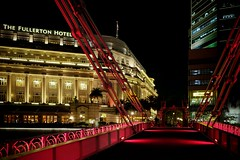 Overnight in a big city. Singapore (varfolomeev) Tags: 2017 сингапур ночь город улица singapore night city street fujifilmxt10 мост bridge