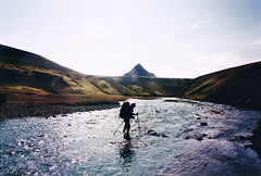 . (Careless Edition) Tags: photography film iceland island nature laugavegur river hike highland