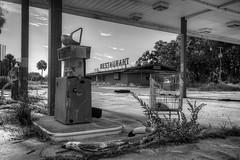 Abandoned Florida (ap0013) Tags: abandoned abandon abandonment bw truckstop gas station gasstation whitesprings florida south southern abandonedtruckstop abandonedgasstation abandonedrestaurant
